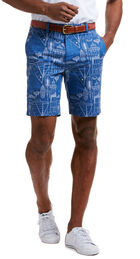 9 Inch Cape Cod Blueprint Breaker Shorts