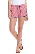 Whale Stripe Print Harbor Shorts