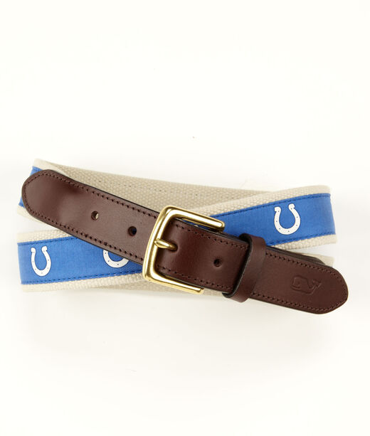 Indianapolis Colts Canvas Club Belt