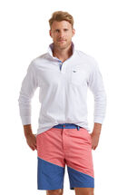 Classic Long-Sleeve Markers Polo