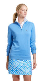 1/4-Zip Solid Sweater
