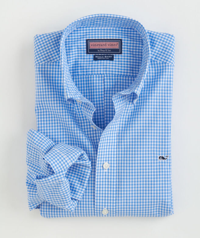 Classic Gingham Whale Shirt