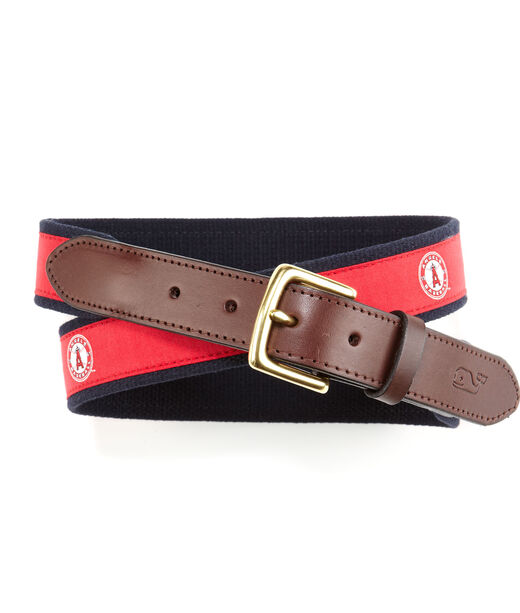 Los Angeles Angels Canvas Club Belt