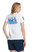 Women's America's Cup Race To The Finish Pocket Tee