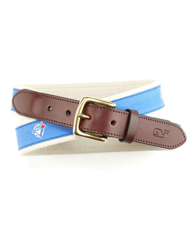 Toronto Blue Jays Canvas Club Belt