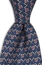 Washington Nationals Logo & Bat Tie