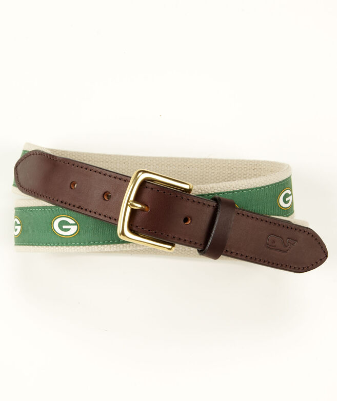 Green Bay Packers Canvas Club Belt