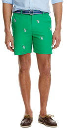 7 Inch Caipirinha Embroidered Breaker Shorts