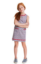 Girls Flag Whale Shift Dress