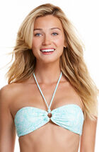 Shells Allover Ring Bandeau Top