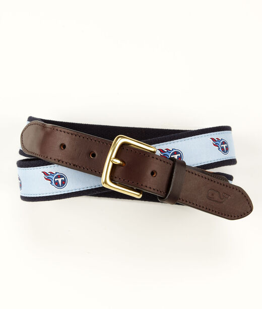 Tennessee Titans Canvas Club Belt