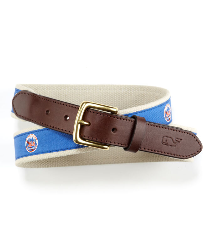 New York Mets Canvas Club Belt