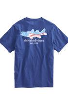Fish Flag Pocket T-Shirt