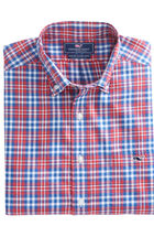 Gilberts Pond Plaid Slim Tucker Shirt