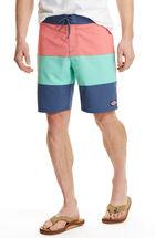 Pieced Stretch Board Shorts