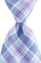 Hawser Plaid Woven Tie
