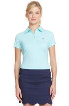 Short Sleeve Cut & Sew Stripe Polo