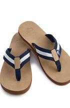 Edgartown Stripe Flip Flops