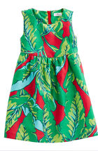 Girls Banana Leaf Dress