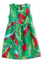 Girls Banana Leaf Dress