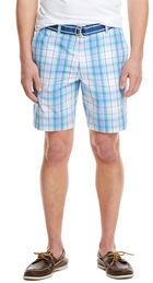 7 Inch Plaid Breaker Shorts