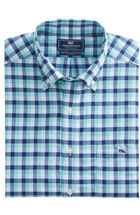 Nauset Check Slim Performance Tucker Shirt