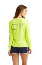 Long-Sleeve Vintage Whale Pocket Tee