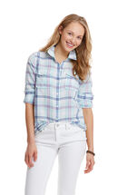 Warf Plaid Camp Button Down