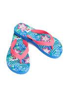 Tropical Printed Flip Flops