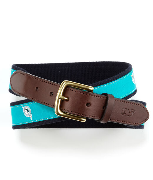Florida Marlins Canvas Club Belt