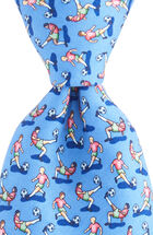 Soccer Bicycle Kick Tie