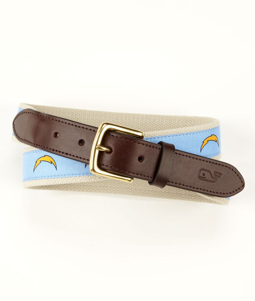 San Diego Chargers Canvas Club Belt