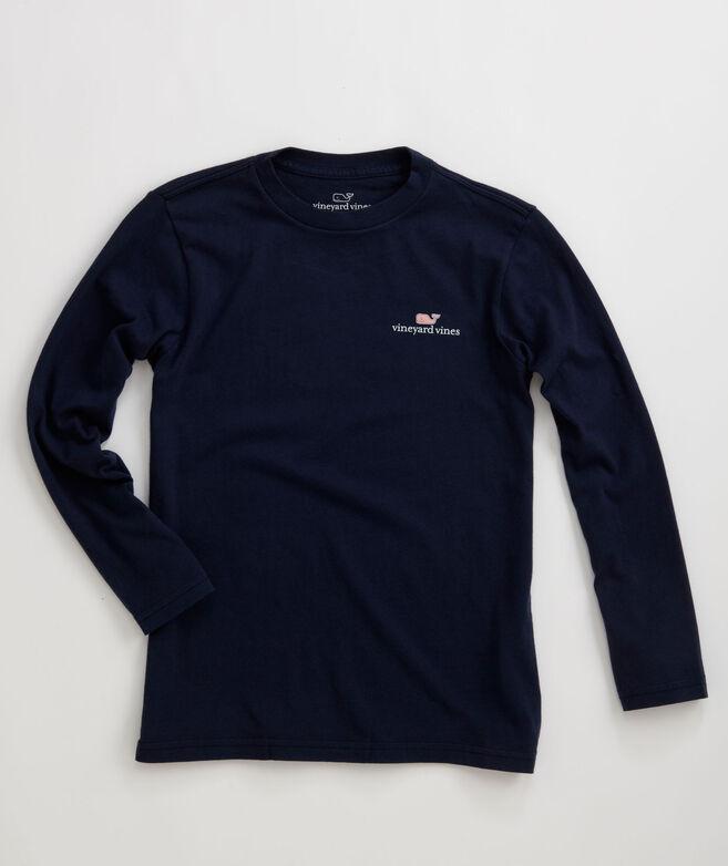 Boys Long-Sleeve VV Logo Graphic T-Shirt