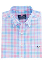 Grace Bay Plaid Classic Tucker Shirt