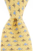 Sailfish & Bones Tie
