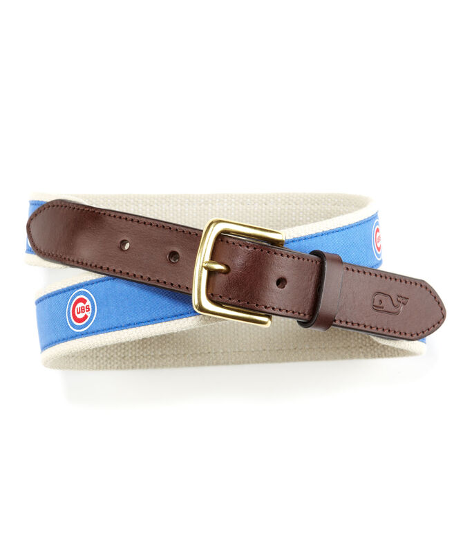 Chicago Cubs Canvas Club Belt