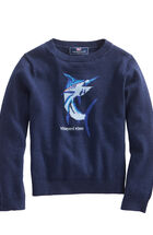 Boys Marlin Intarsia Sweater