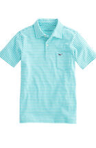 Boys Feeder Stripe Jersey Polo