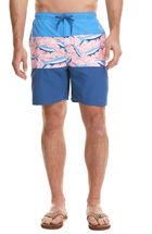 Pieced Tropical Cabana Shorts