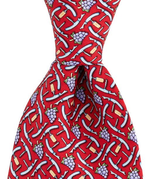 Wine Key Tie