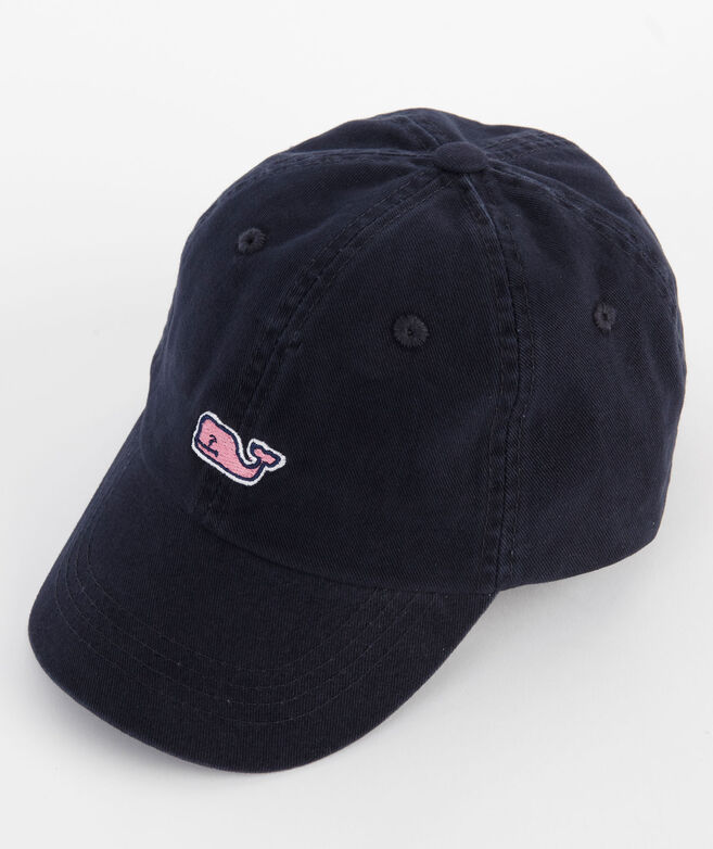 Boys Embroidered Whale Hat