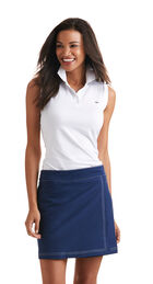 Sleeveless Solid Performance Polo