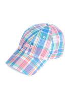 Madras Chambray Baseball Hat