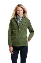 Waxed Cotton Parka Jacket