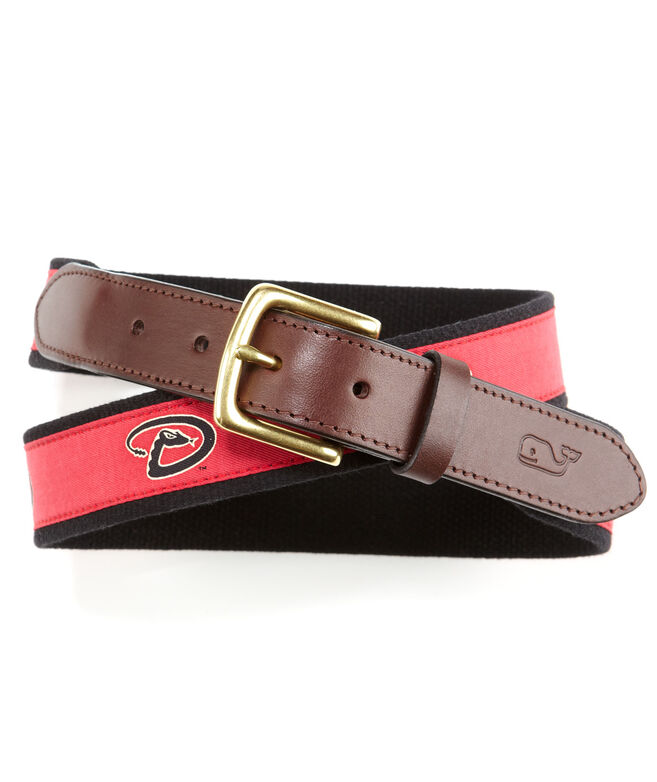Arizona Diamondbacks Canvas Club Belt