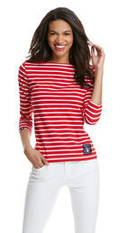 America's Cup Striped Knit Top