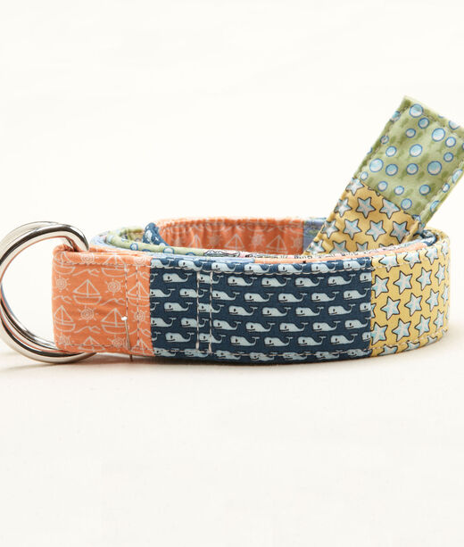 Boys Patchwork Ribbon Belt