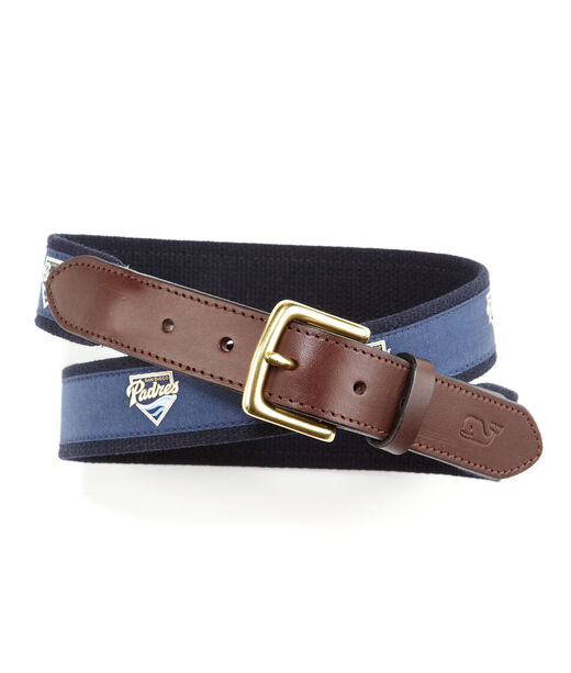 San Diego Padres Canvas Club Belt