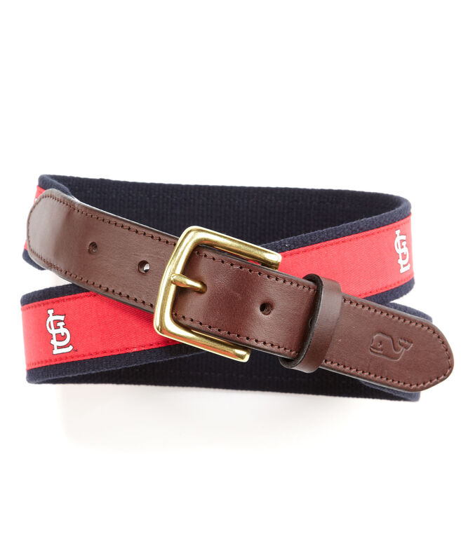 St. Louis Cardinals Canvas Club Belt