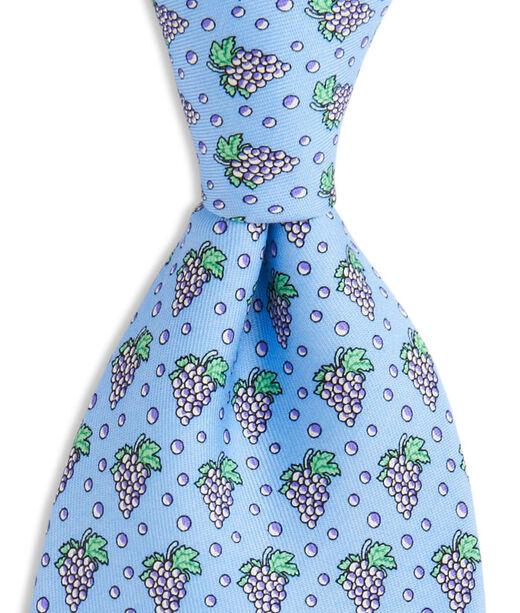 Vintage Grapes Tie